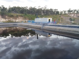 Landfill leachate treatment system, using disc tube module technolgy- 140 mc/h 2 stage -ROTREAT