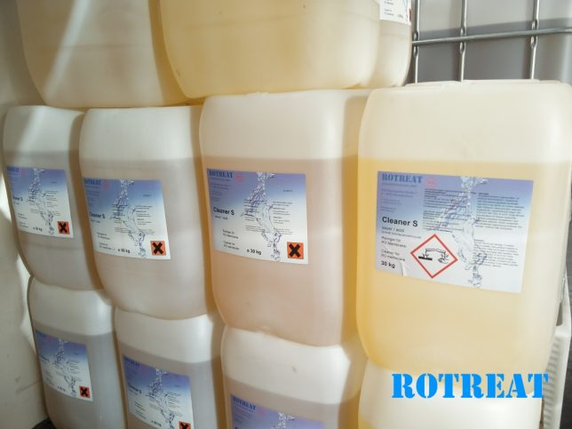 Rotreat - Cleaner S - 25 kg - Acidic high quality revese osmosis membranes
